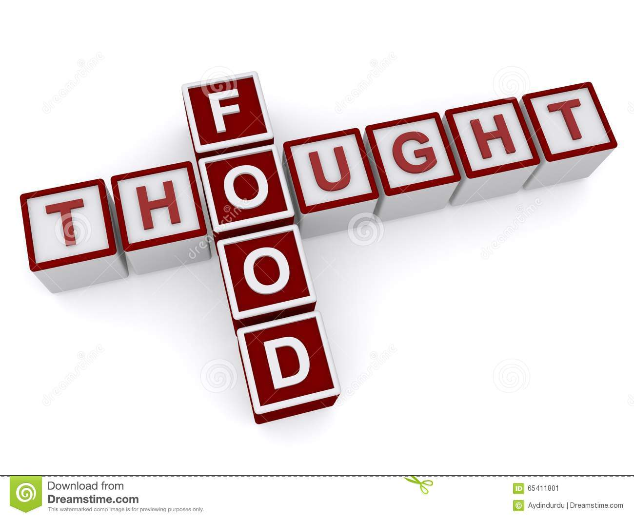 Food for thought clipart png transparent download Food For Thought. Stock Illustration - Image: 39828219 png transparent download