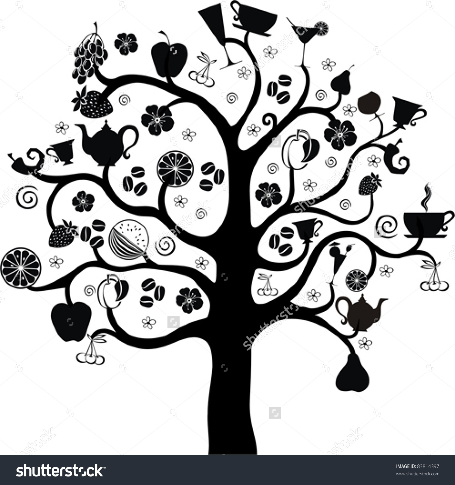 Food from trees clipart png freeuse library Food from trees clipart - ClipartFest png freeuse library