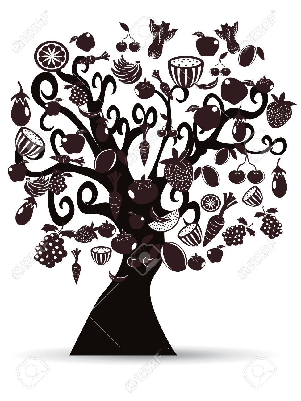 Food from trees clipart free stock Food from trees clipart - ClipartFest free stock