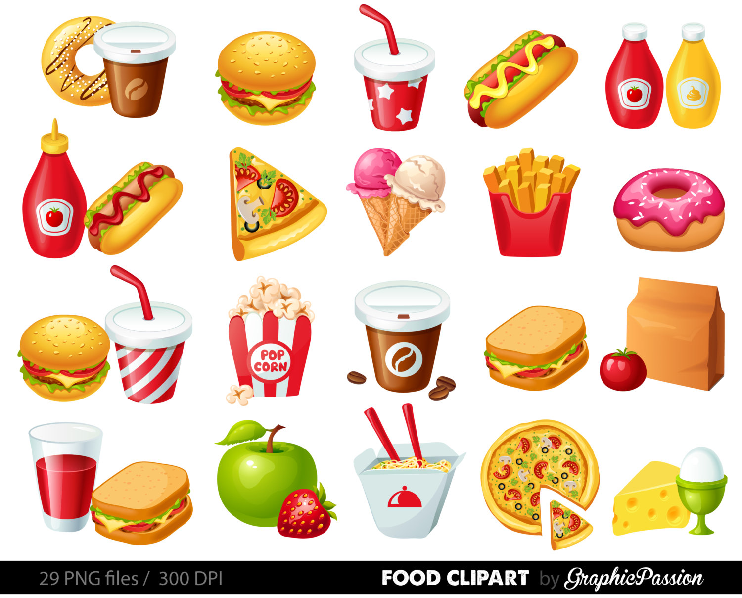 Food graphics clipart banner black and white library Free Food Graphics Cliparts, Download Free Clip Art, Free Clip Art ... banner black and white library