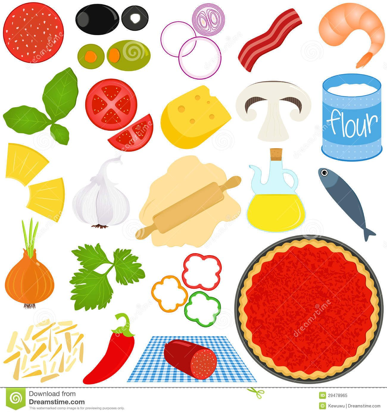 Kid making pizza clipart picture royalty free library Pizza Toppings Clipart Ingredients To Make Pizza | פינות בגן | Pizza ... picture royalty free library