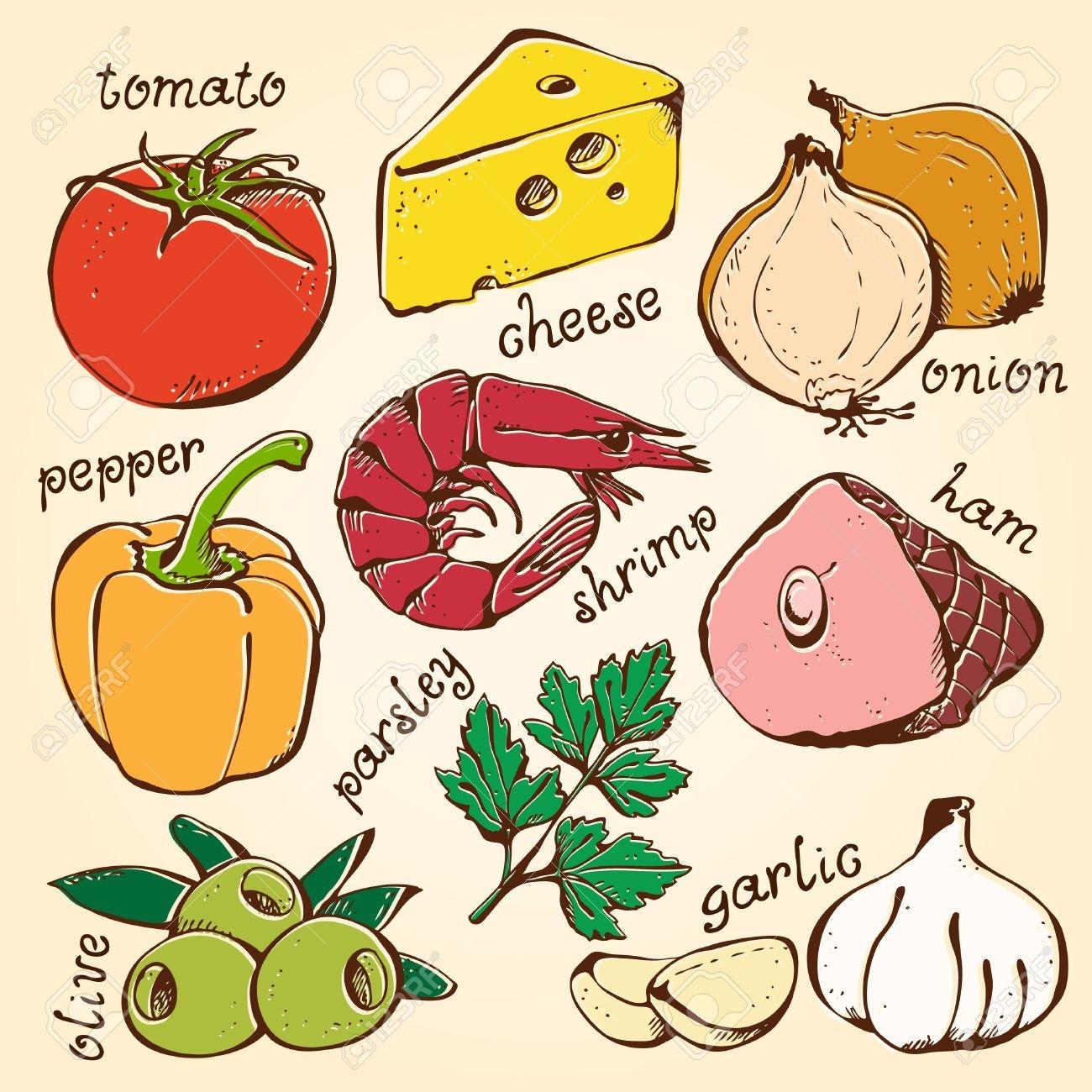 Food ingredient clipart jpg transparent Ingredients Clipart | Free download best Ingredients Clipart on ... jpg transparent