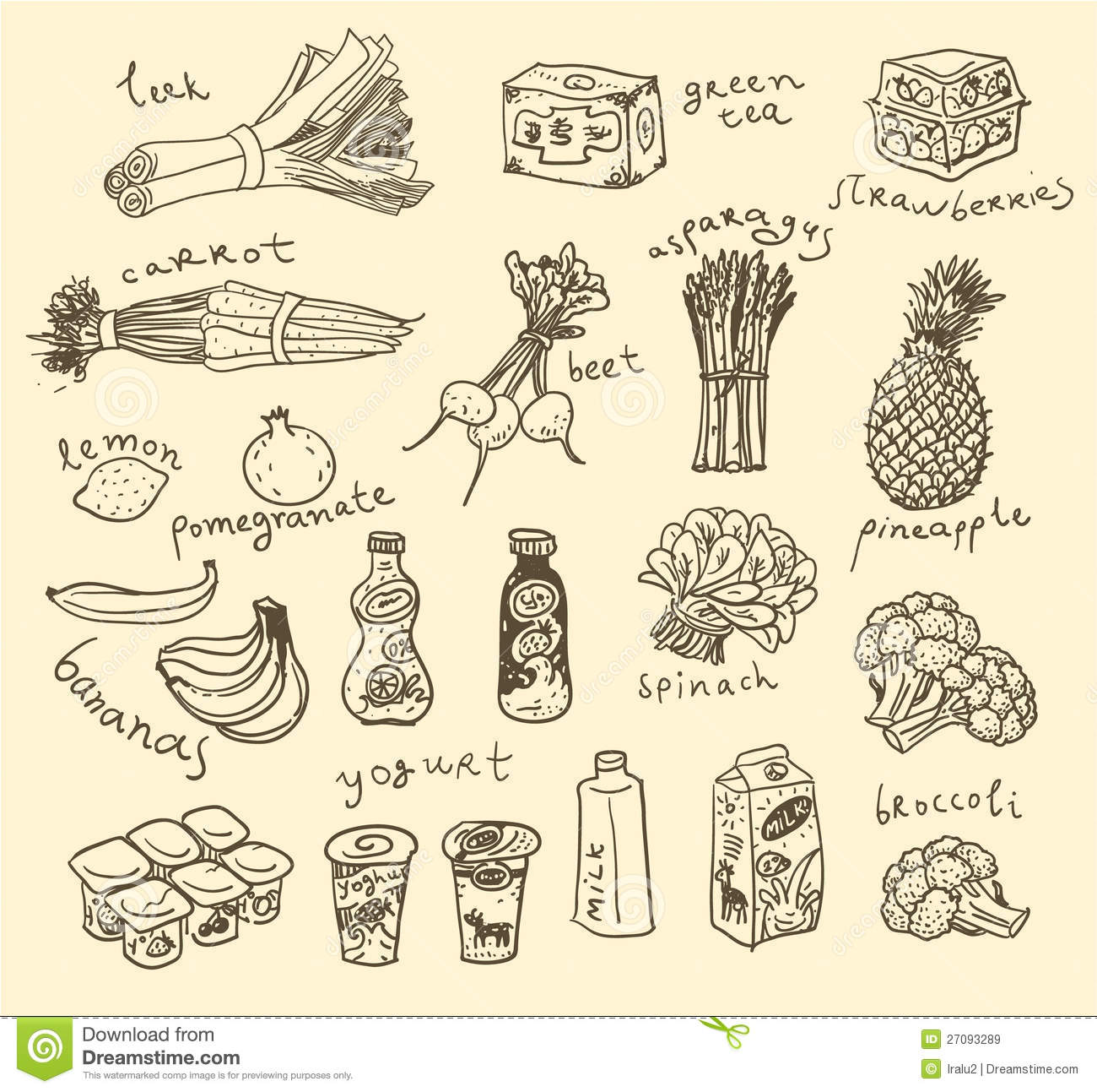 Food ingredient clipart clipart freeuse Vector Food Ingredients | Clipart Panda - Free Clipart Images clipart freeuse