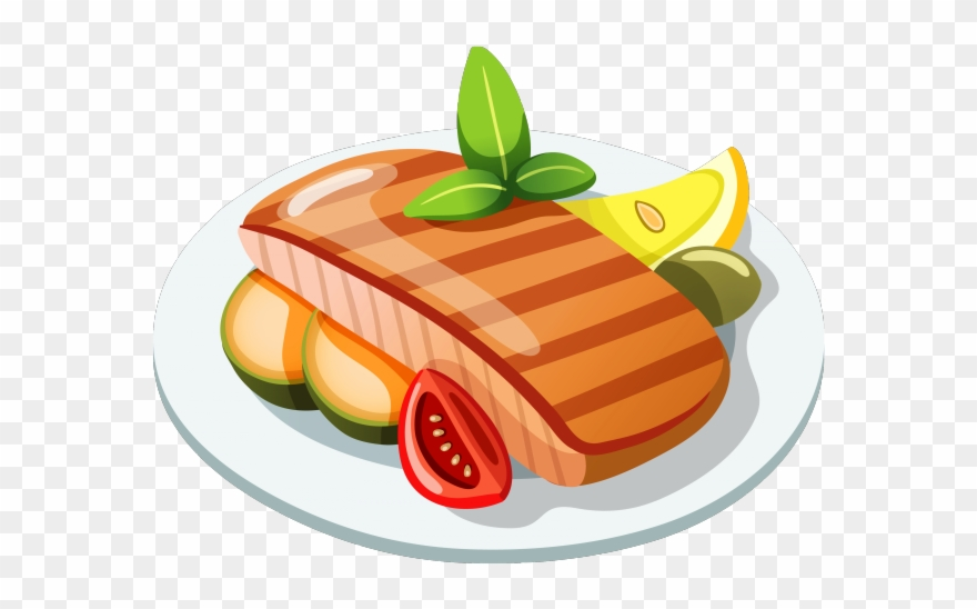 Food on the plate clipart png transparent download Dinner Plate Clipart Main Course - Food Png Clipart Transparent Png ... png transparent download