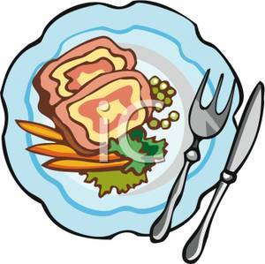 Food on the plate clipart graphic freeuse library Food plate clipart 3 » Clipart Portal graphic freeuse library