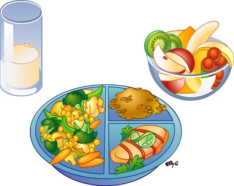 Free clipart healthy eating black and white library Free Healthy Plate Cliparts, Download Free Clip Art, Free Clip Art ... black and white library