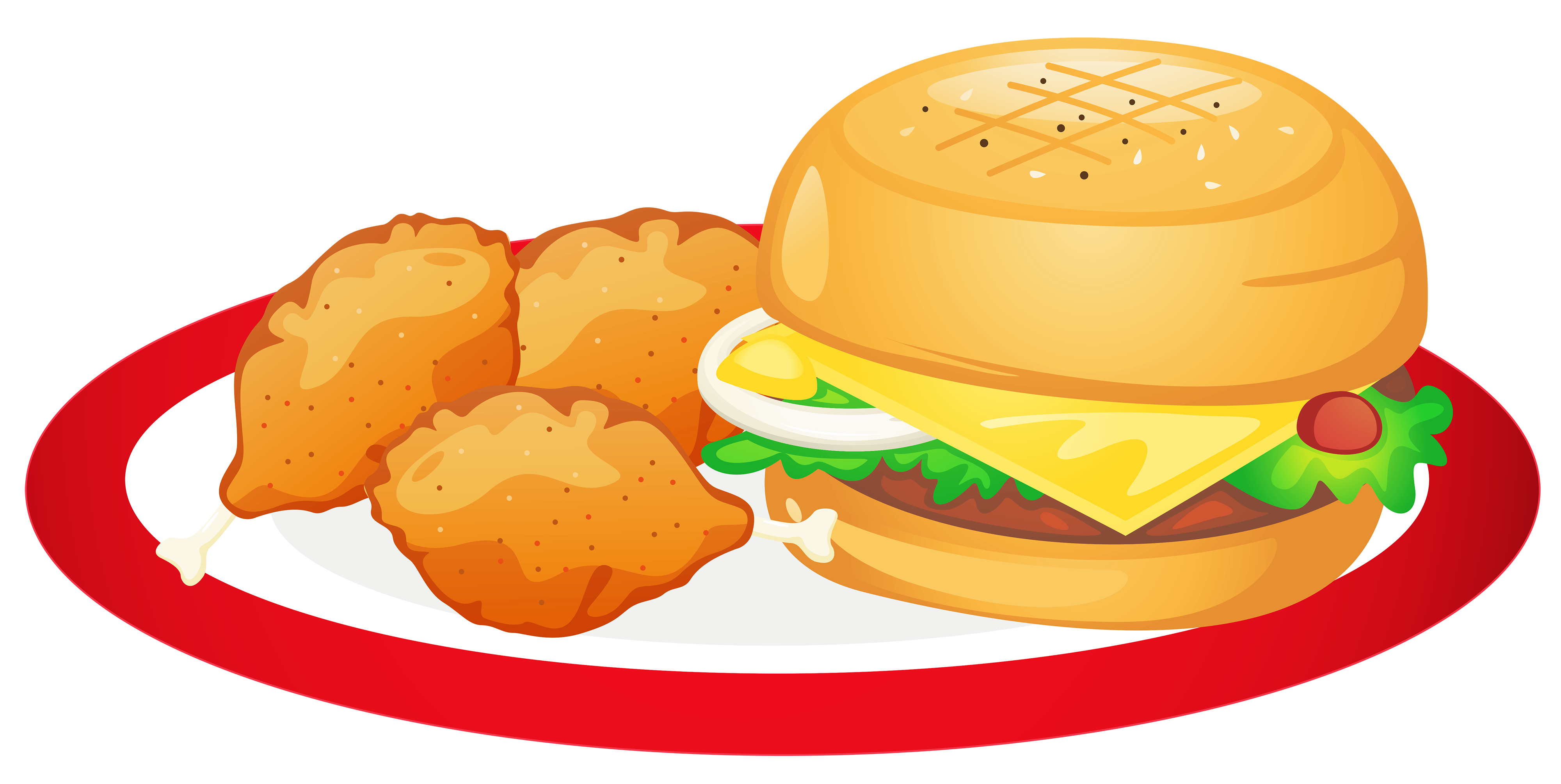 Food plate clipart png Food Plate Clipart | Free download best Food Plate Clipart on ... png