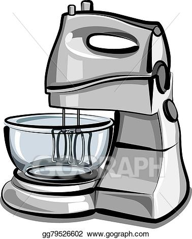 Food processor clipart jpg freeuse library Vector Art - Food processor. EPS clipart gg79526602 - GoGraph jpg freeuse library
