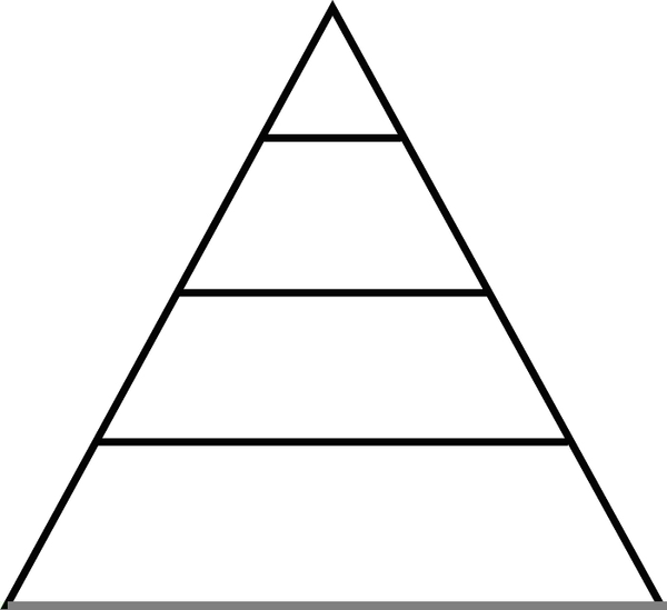 Food pyramid clipart black and white jpg royalty free Food Pyramid Drawing | Free download best Food Pyramid Drawing on ... jpg royalty free