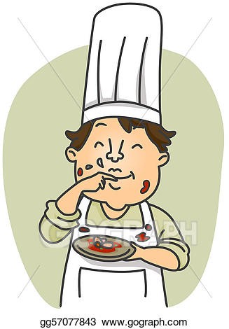Food tasting clipart svg free library Stock Illustration - Taste test. Clipart Illustrations gg57077843 ... svg free library