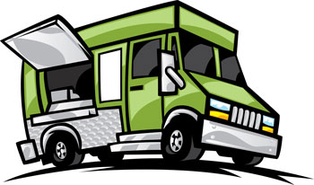 Food truck clipart free png black and white Free Food Truck Cliparts, Download Free Clip Art, Free Clip Art on ... png black and white