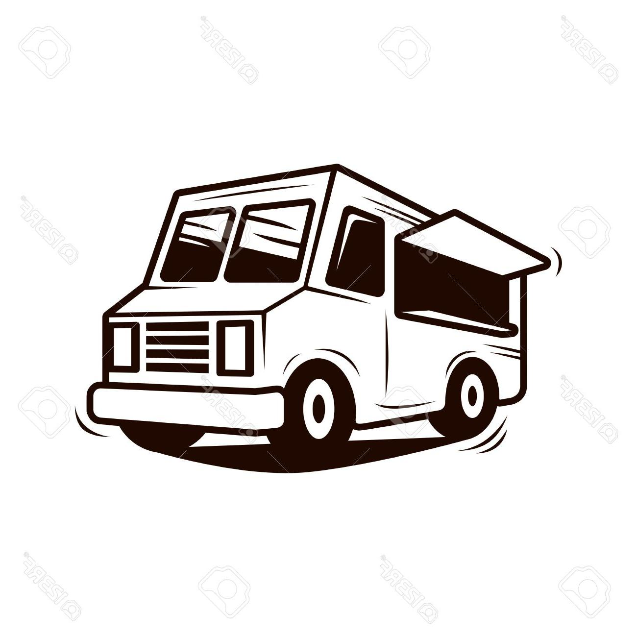 Food truck clipart free banner black and white download HD Food Truck Art Vector Pictures » Free Vector Art, Images ... banner black and white download
