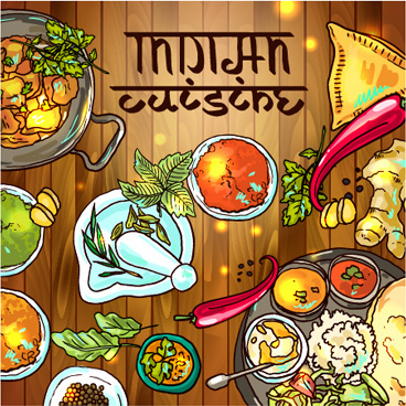 Food vector clipart free download banner stock Indian food clip art free vector download (210,251 Free vector ... banner stock