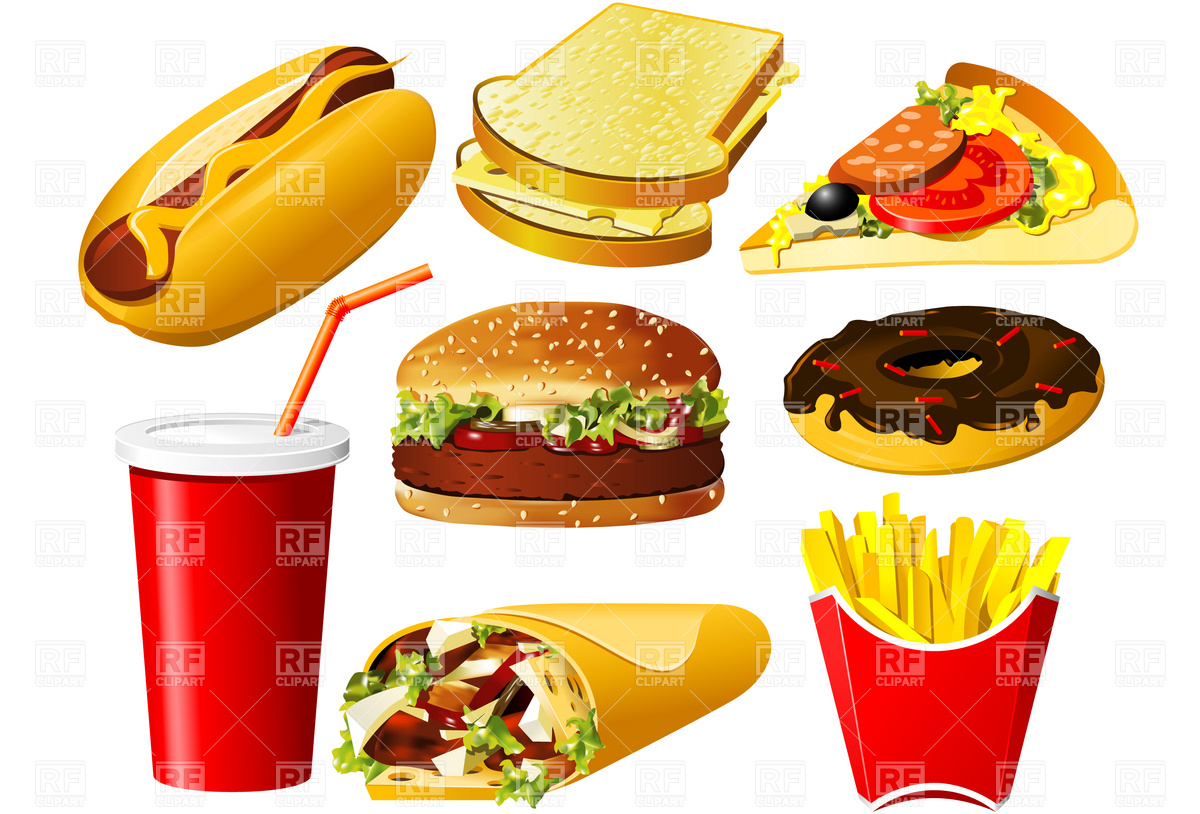 Food vector clipart free download vector free stock Fastfood Clipart | Free Download Clip Art | Free Clip Art | on ... vector free stock