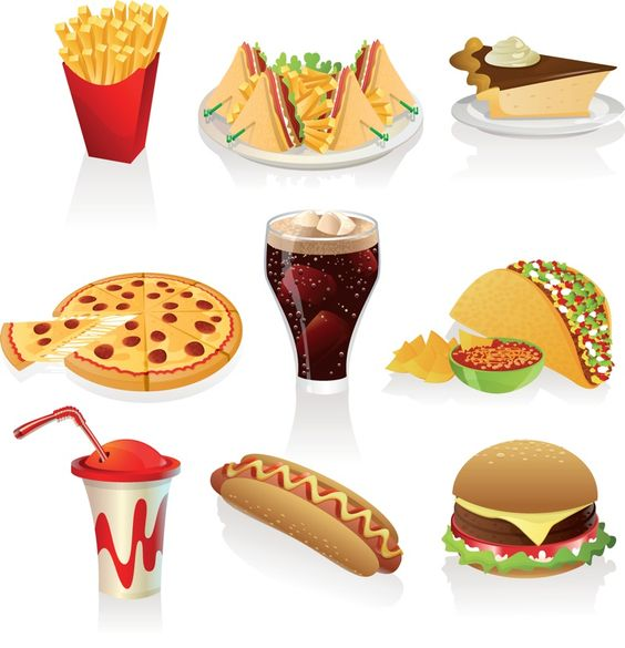 Food vector clipart free download clipart freeuse stock Junk-Food Clipart | Free Download Clip Art | Free Clip Art | on ... clipart freeuse stock