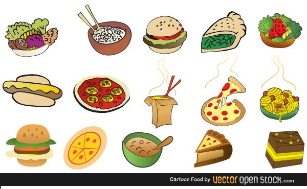 Food vector clipart free download clip art freeuse download Fast Food Vector Free Download | 123Freevectors clip art freeuse download
