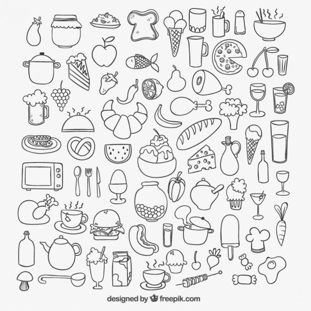 Food vector clipart free download picture Food Vectors, Photos and PSD files | Free Download picture