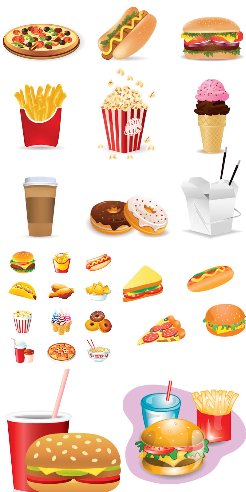 Food vector clipart free download picture library stock Food vector clipart free download - ClipartFest picture library stock