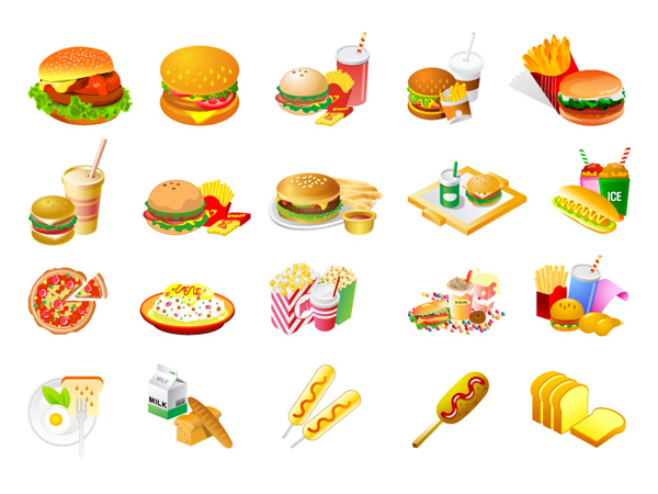 Food vector clipart free download png library library Food vector clipart free download - ClipartFest png library library