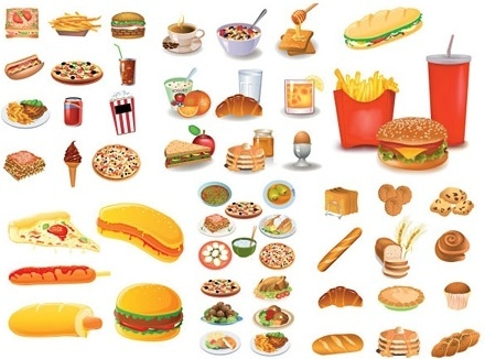 Food vector clipart free download jpg black and white Food free vector download (4,649 Free vector) for commercial use ... jpg black and white