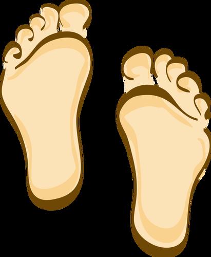 Human feet clip art. Foot cartoon clipart