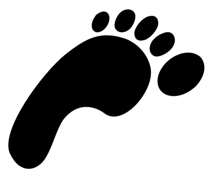 Footprint images clipart free clip transparent download Free Free Footprint Clipart, Download Free Clip Art, Free Clip Art ... clip transparent download