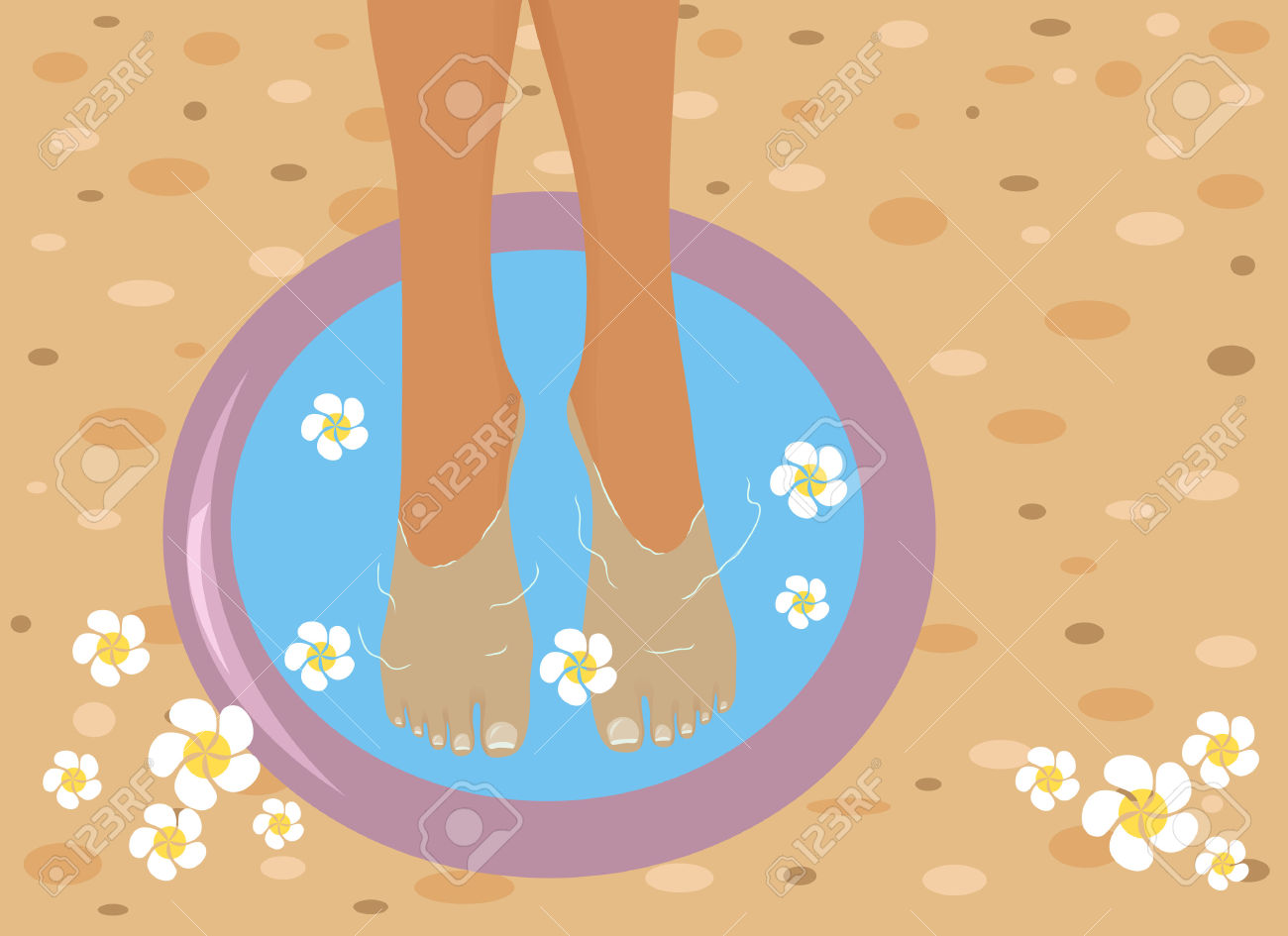 Foot spa clipart picture library download Foot spa clipart - Clip Art Library picture library download