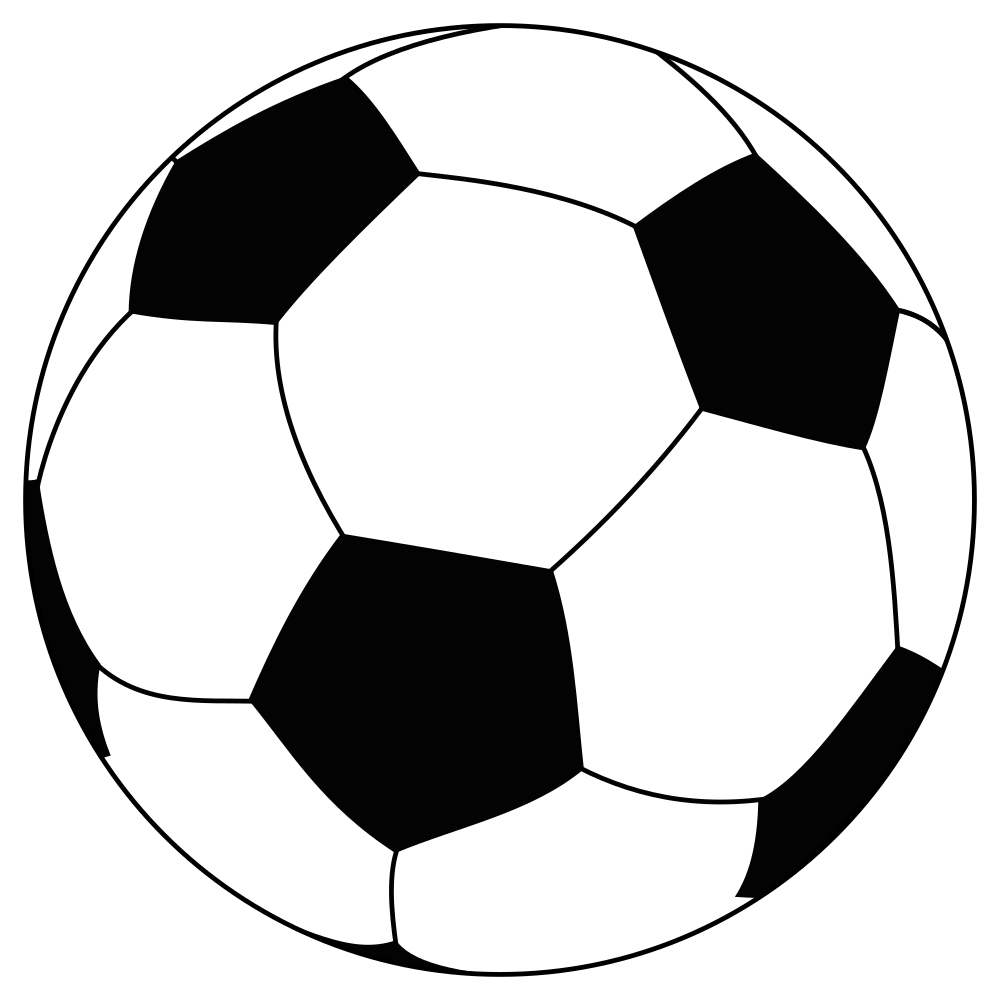 Football 2016 clipart black and white library File:Soccerball.svg - Wikimedia Commons black and white library
