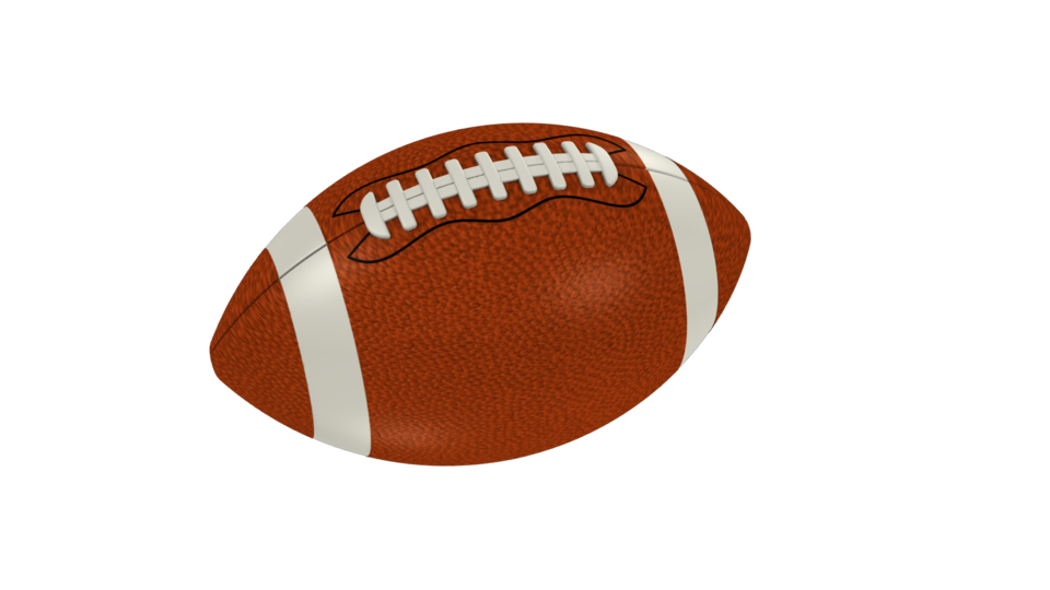 Clear background free on. Football clipart photo