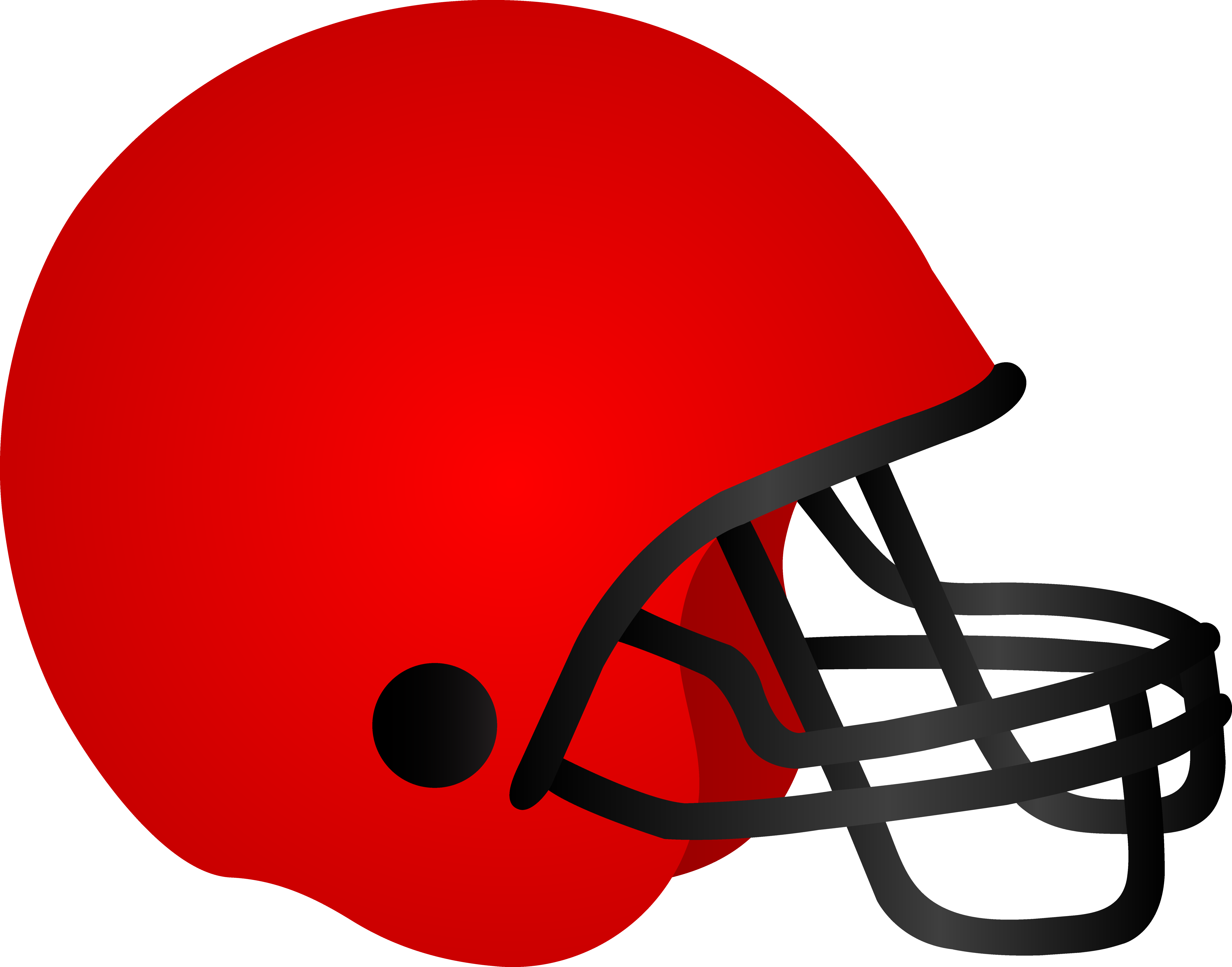 Football with heart clipart jpg library library Football outline clipart red and blue jpg library library