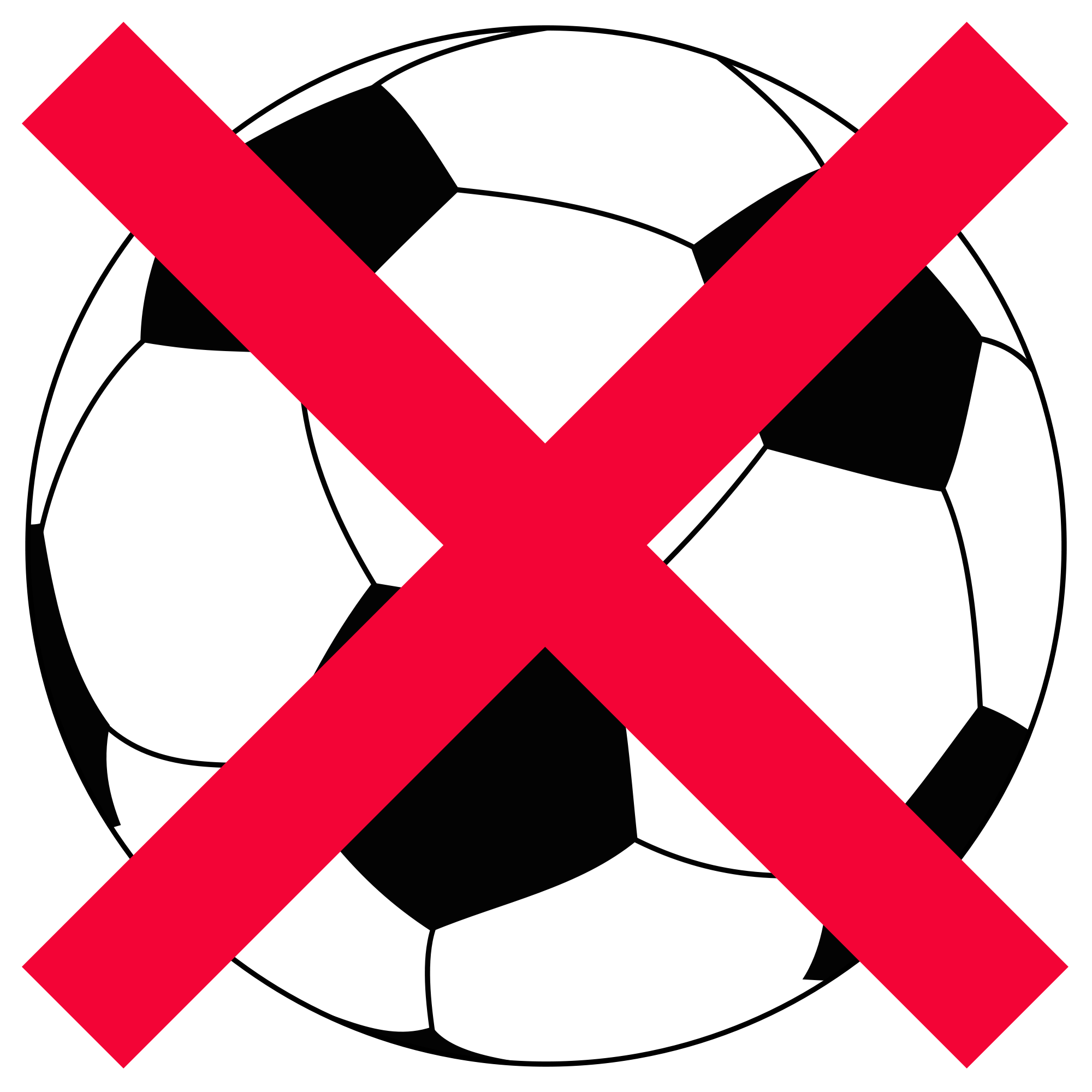 Open football clipart image library library File:Football-NO.svg - Wikimedia Commons image library library