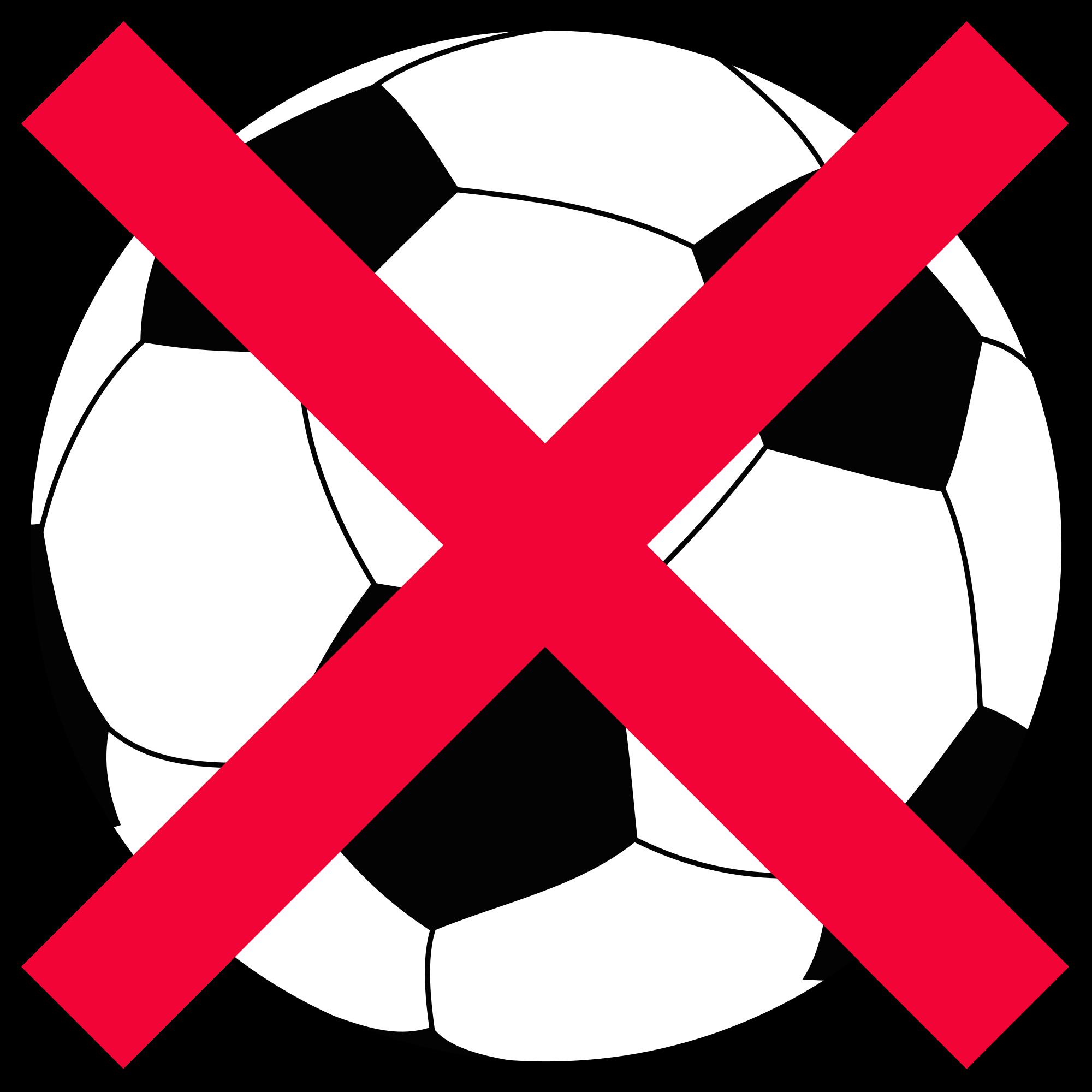 No football clipart clip free stock File:Football-NO.svg - Wikimedia Commons clip free stock