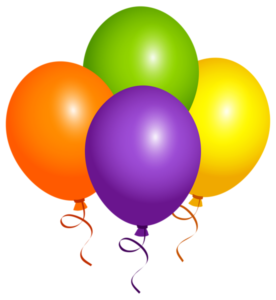 Football balloon clipart picture freeuse download Large Balloons PNG Clipart Image | Cumpleaños y Felicitaciones ... picture freeuse download