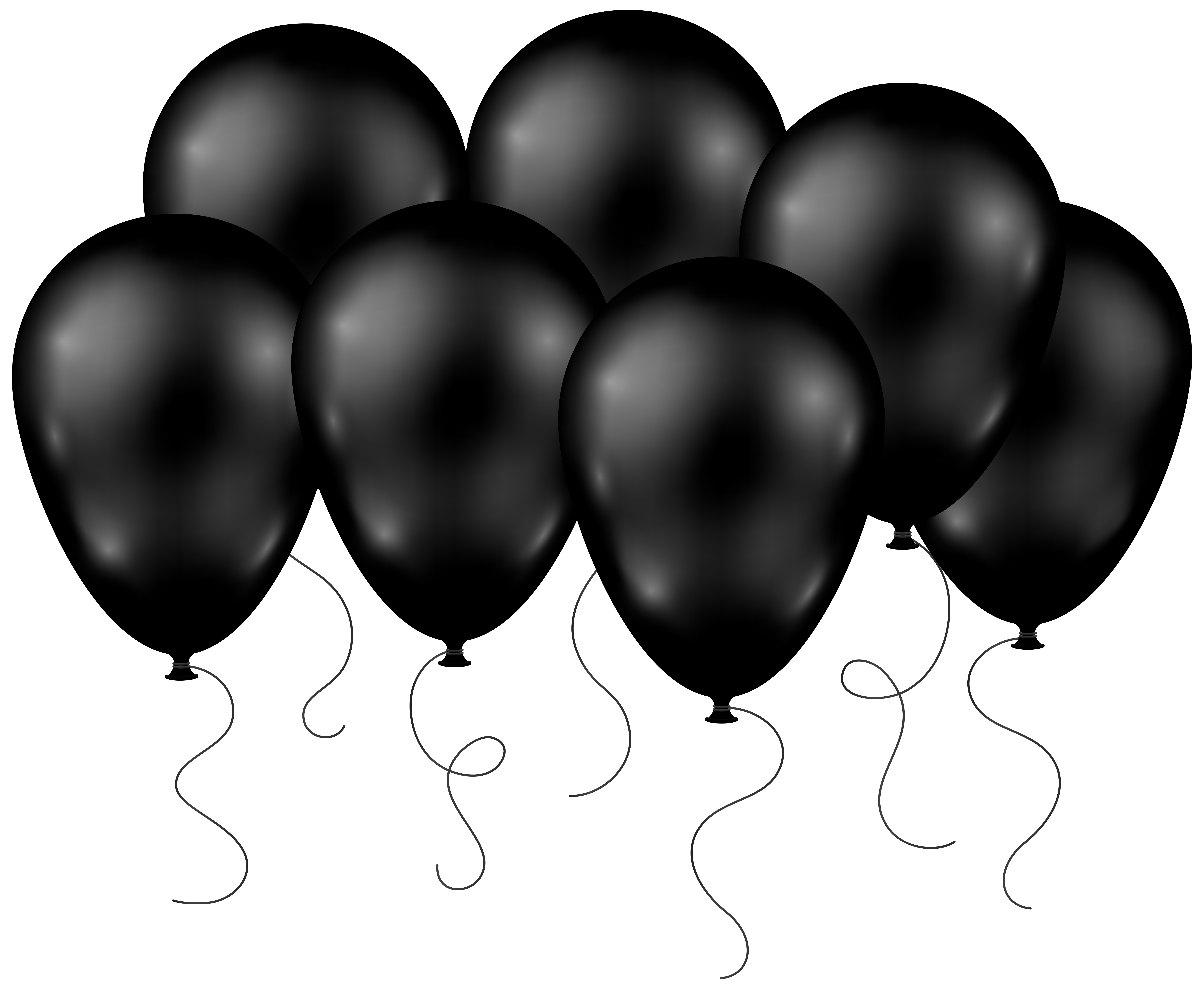Football bow clipart in black clip art free library Black Balloons Transparent PNG Clip Art Image | Gallery ... clip art free library