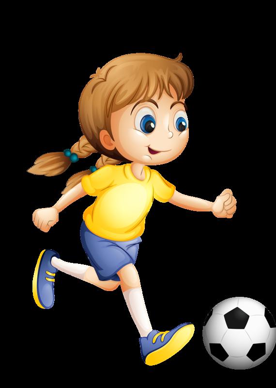 Football funny clipart png royalty free El balompié, el fútbol, la pelota, la niña, la muchacha, la chica ... png royalty free