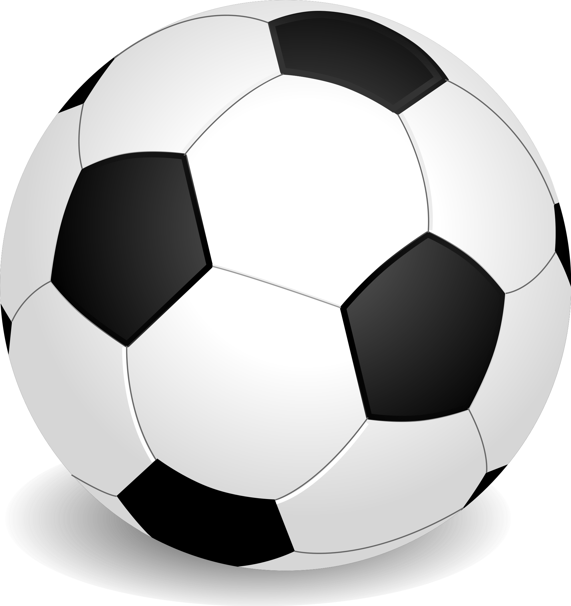 Football clipart black and white svg png royalty free File:Football (soccer ball).svg - Wikimedia Commons png royalty free