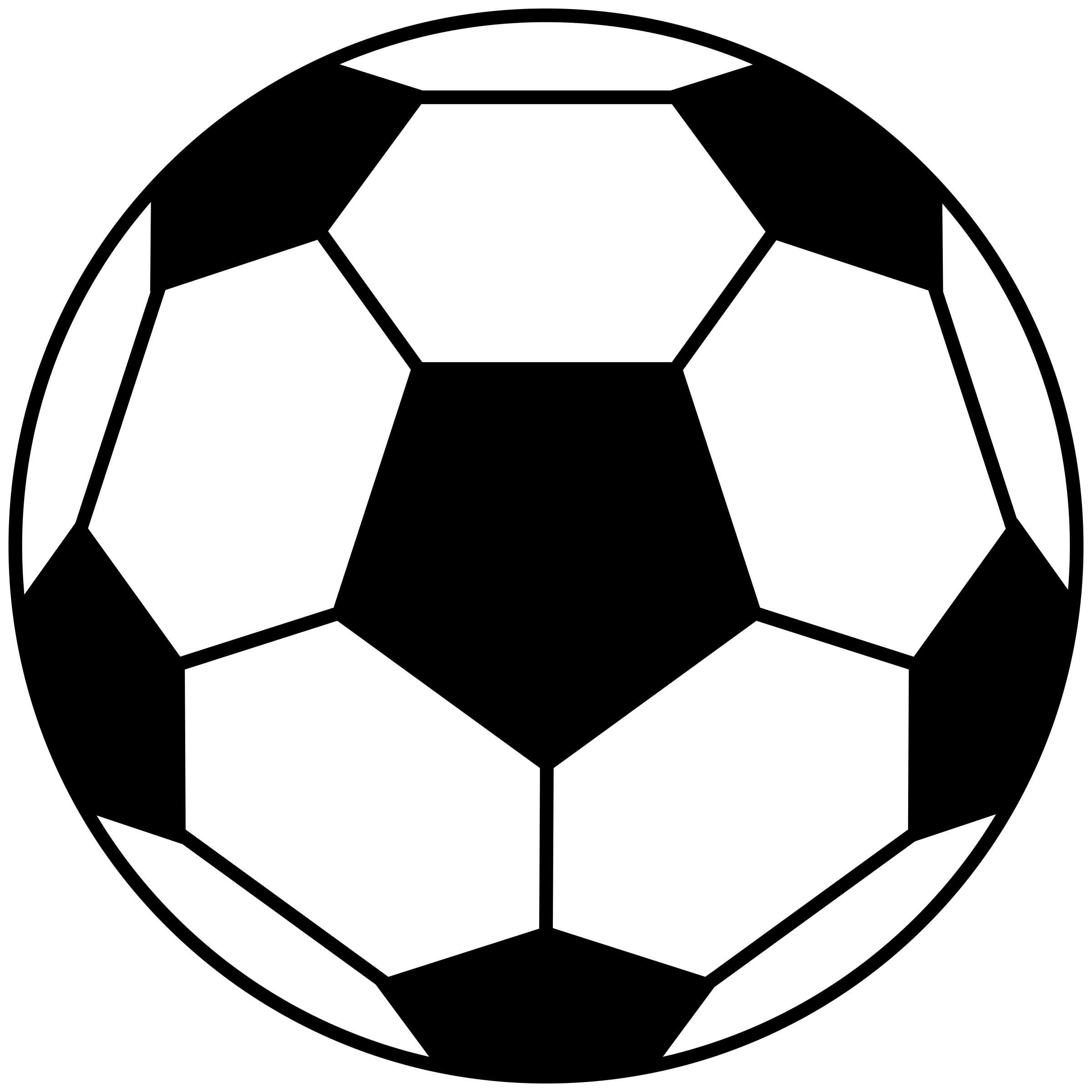 Clipart - Classic Football graphic transparent download