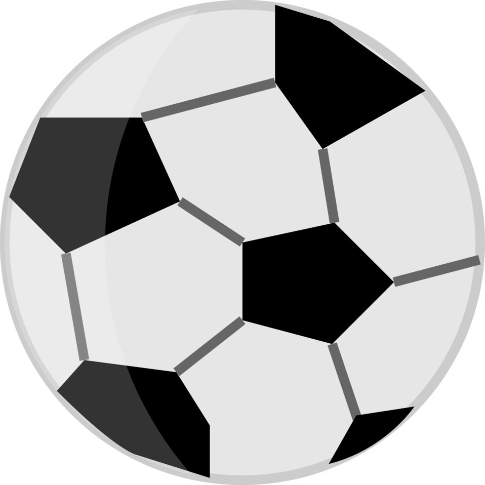 Football clipart black and white png jpg library stock Public Domain Clip Art Image | Illustration of a soccer ball | ID ... jpg library stock