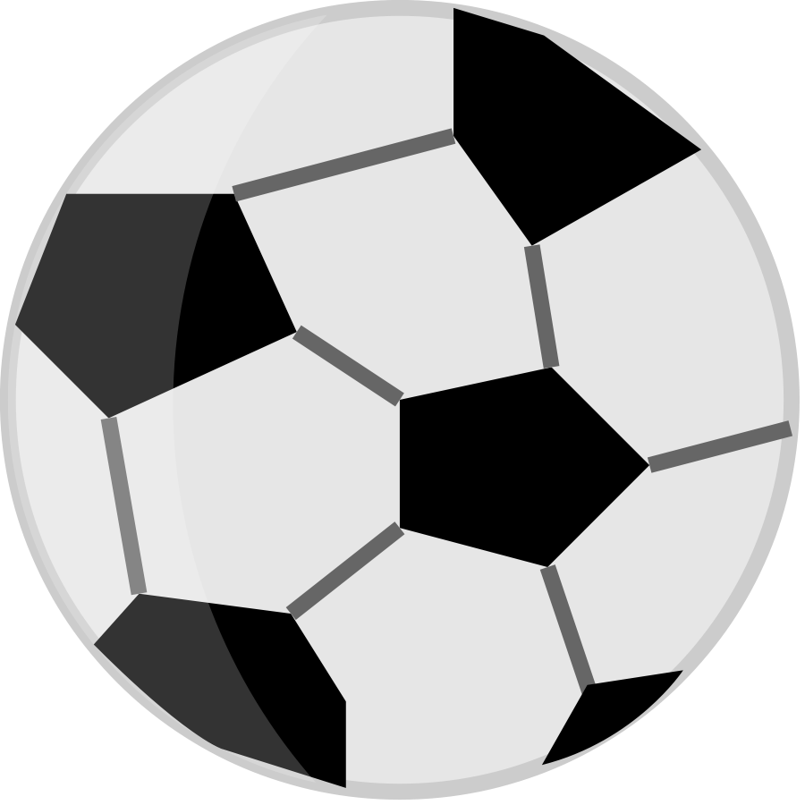 Football outline clipart black and white banner black and white Football clipart free microsoft images - Clipartix banner black and white