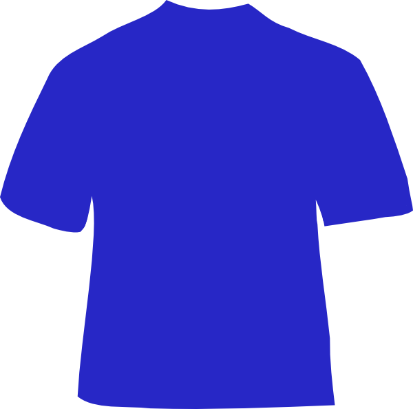 Shirt with cross clipart graphic library stock Blue Shirt Clip Art at Clker.com - vector clip art online, royalty ... graphic library stock