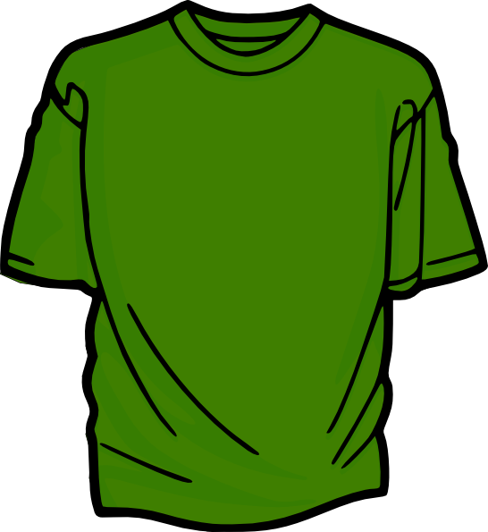 Football clipart for t shirts clipart royalty free T-shirt-green Clip Art at Clker.com - vector clip art online ... clipart royalty free