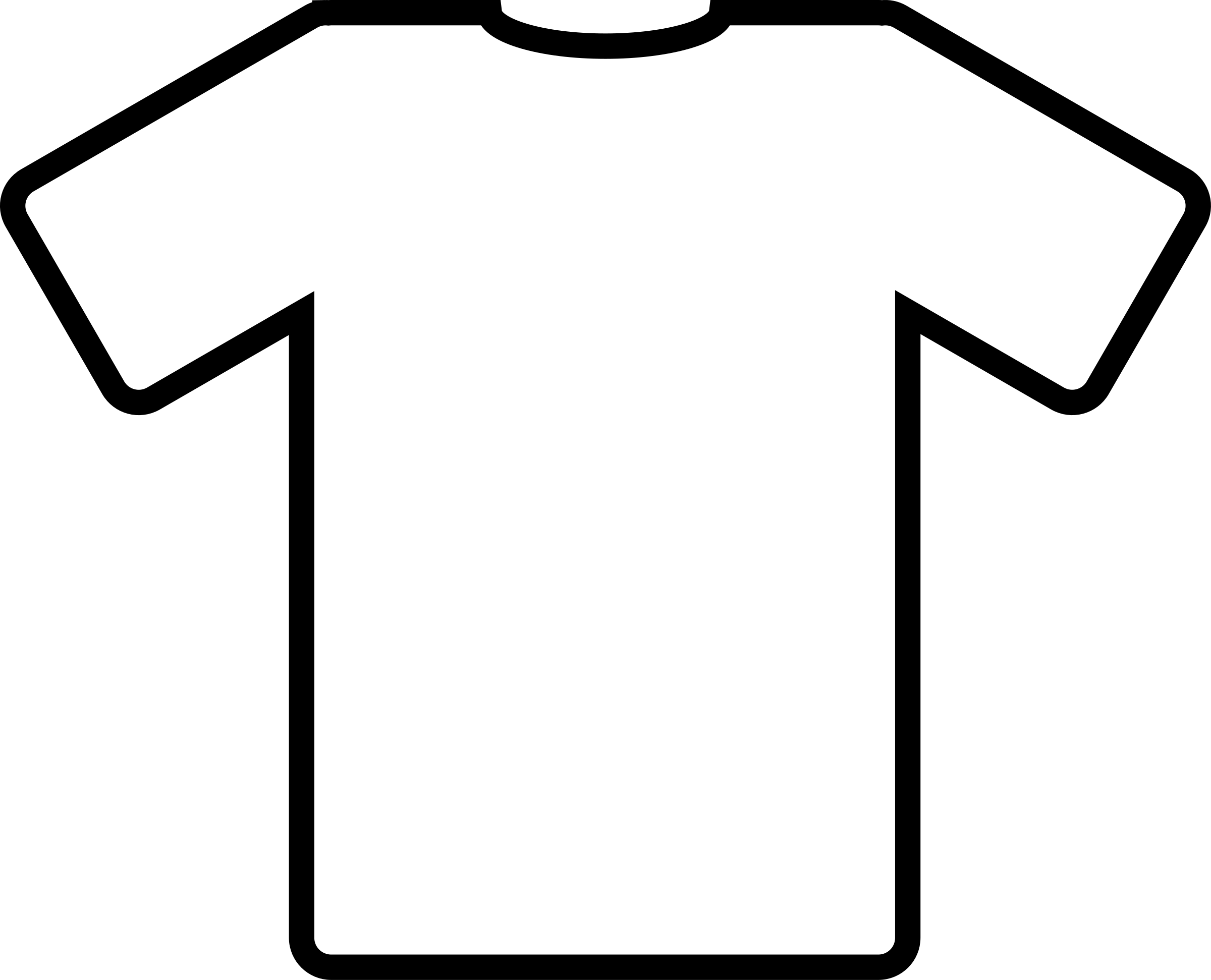 Football jersey clipart. White t shirt big