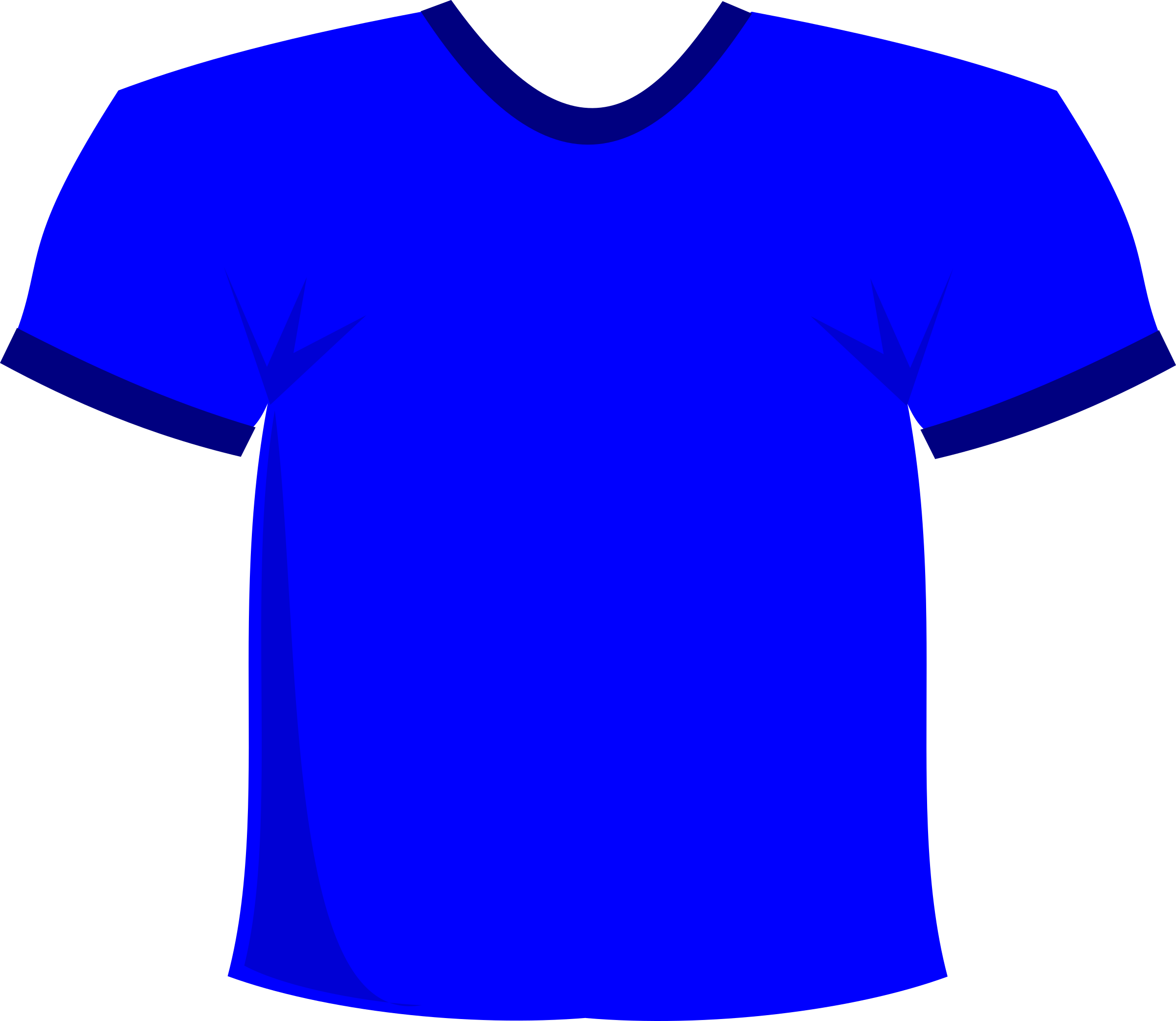 Football clipart for t shirts clip art free library Clipart - T-Shirt Blue clip art free library