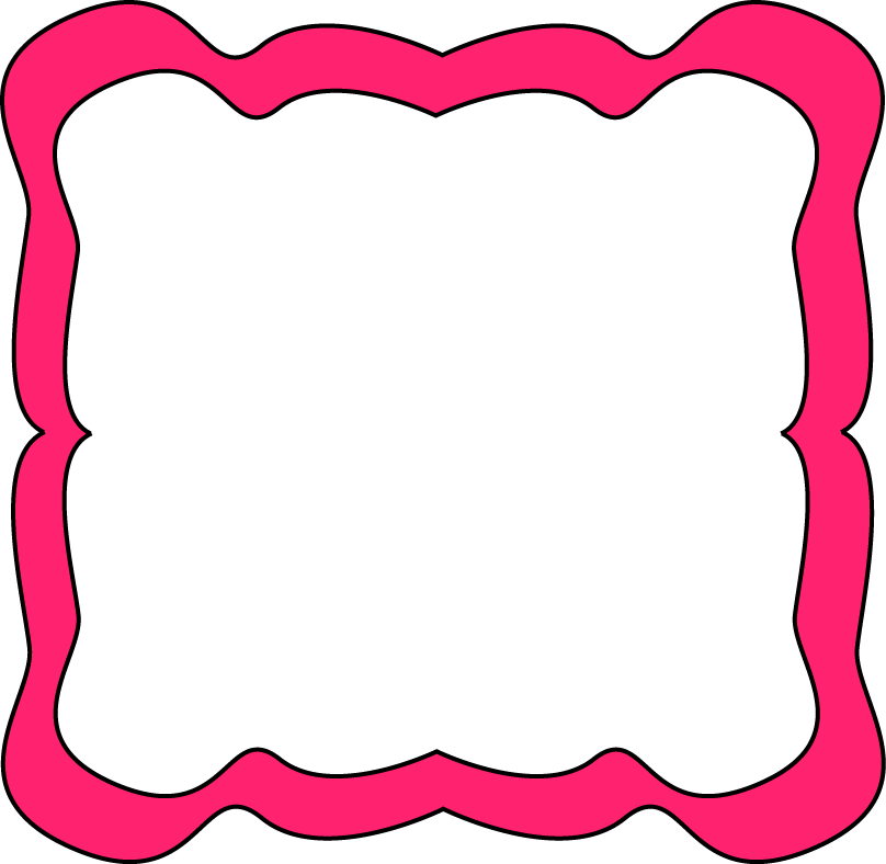 Borders and frames free. Football clipart frame