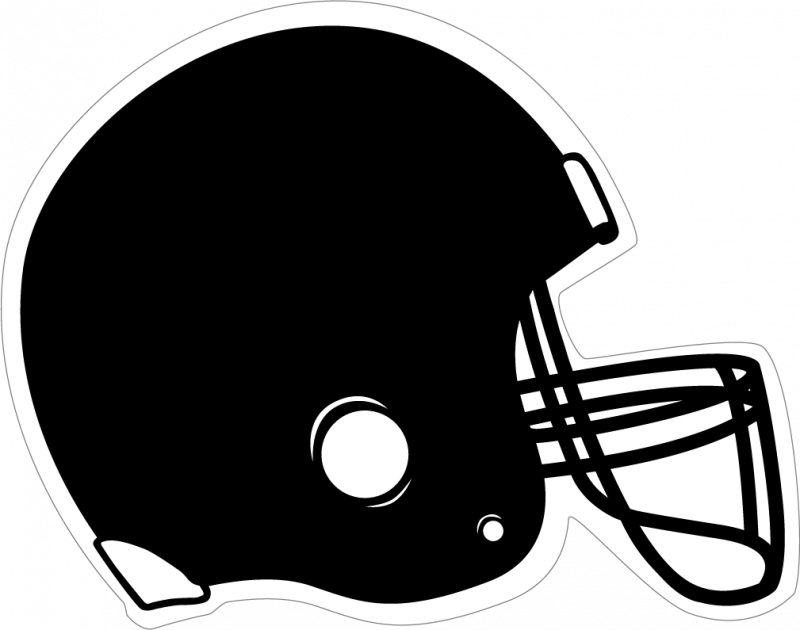 Football clipart helmet clipart black and white library Football helmet clip art black and white football clipart - ClipartBarn clipart black and white library