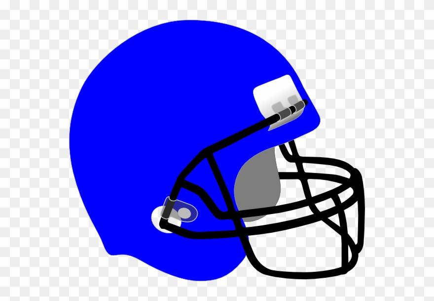 Football clipart helmet black and white download Football Helmet Free Sports Football Clipart Clip Art - Blue ... black and white download