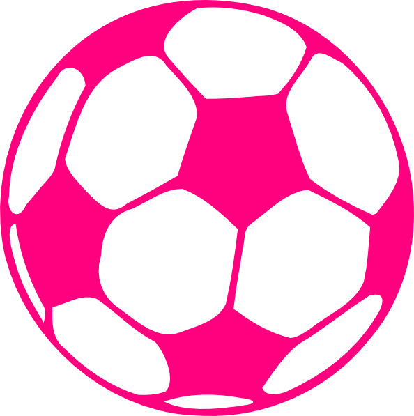 Football pitch clipart vector black and white library Pink Football Clip Art at Clker.com - vector clip art online ... vector black and white library