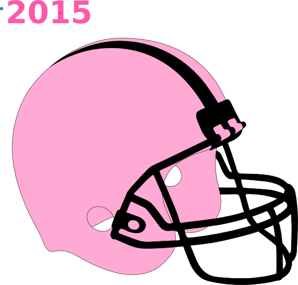 Pink football clipart image free download Football Helmet Pink And Black Clip Art at Clker.com - vector clip ... image free download