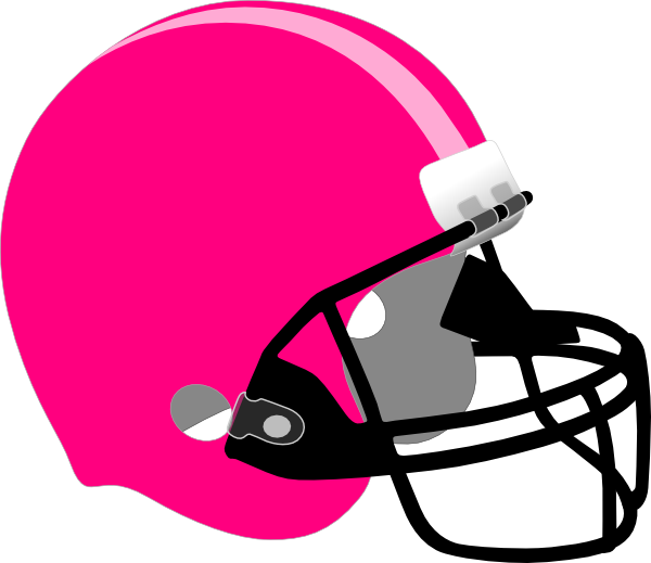 Pink football helmet clipart clipart black and white download Pink/light Pink Helmet Clip Art at Clker.com - vector clip art ... clipart black and white download