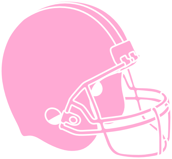Pink football helmet clipart graphic library download Pink Powder Puff Football Helmet Clip Art at Clker.com - vector clip ... graphic library download
